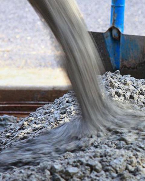 Sable, béton prêt à l'emploi, granulat et cailloux à Annecy